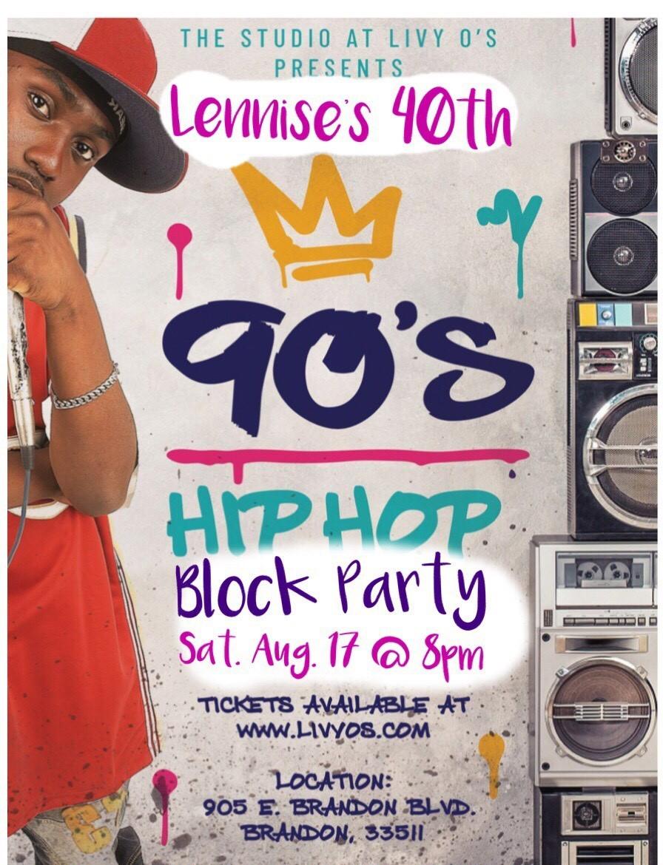 90's Hip Hop Block Party