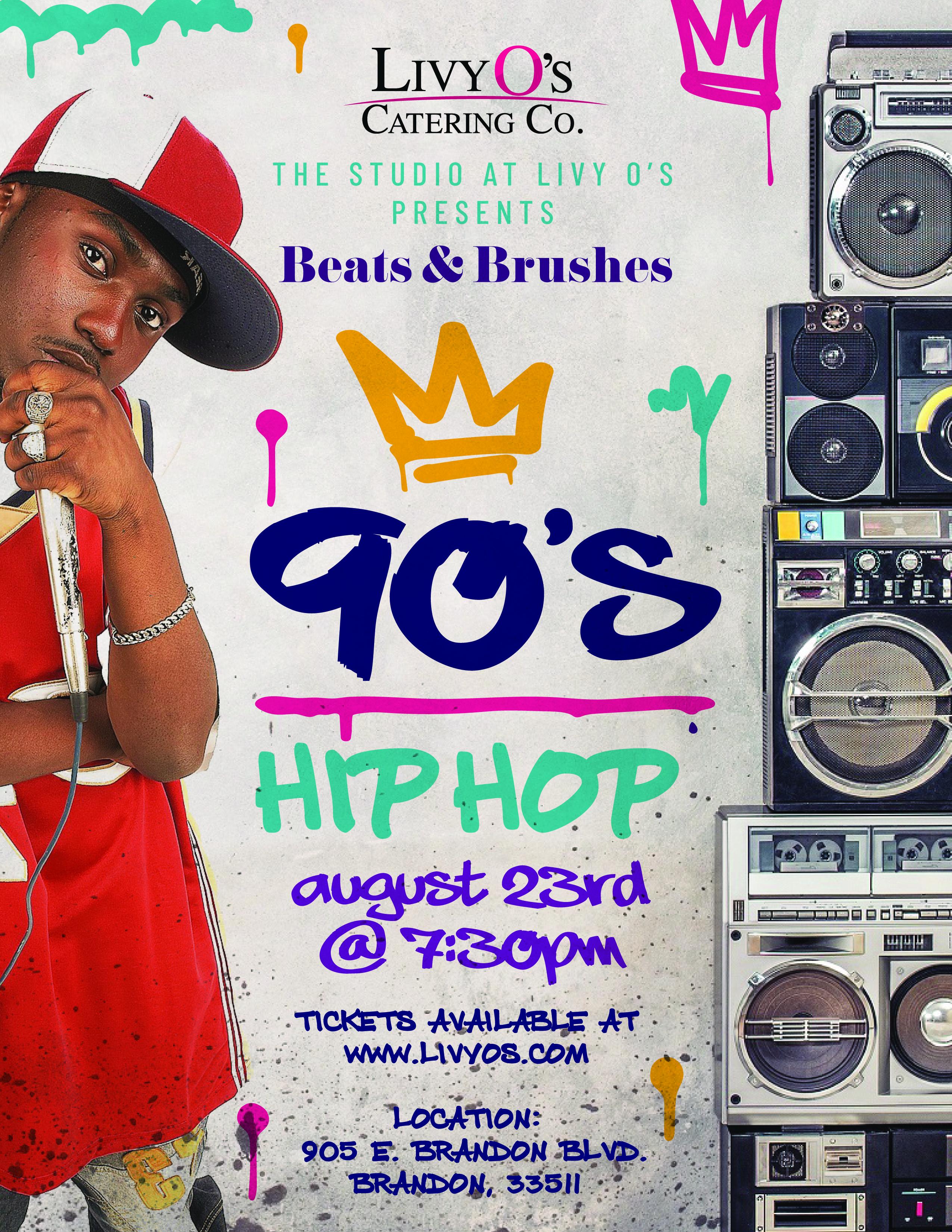 Beats & Brushes : 90's Hip Hop