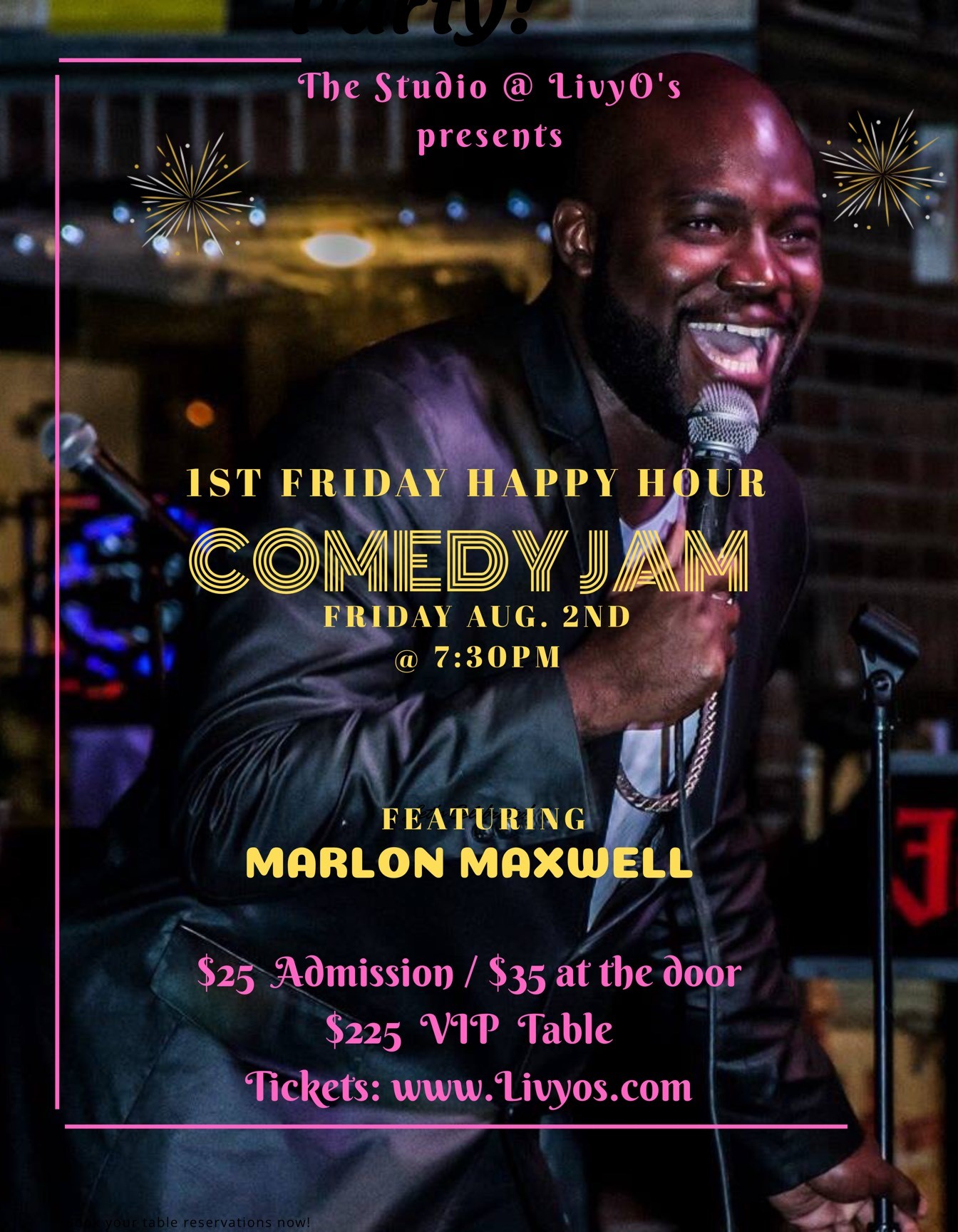 Happy Hour: Comedy Jam